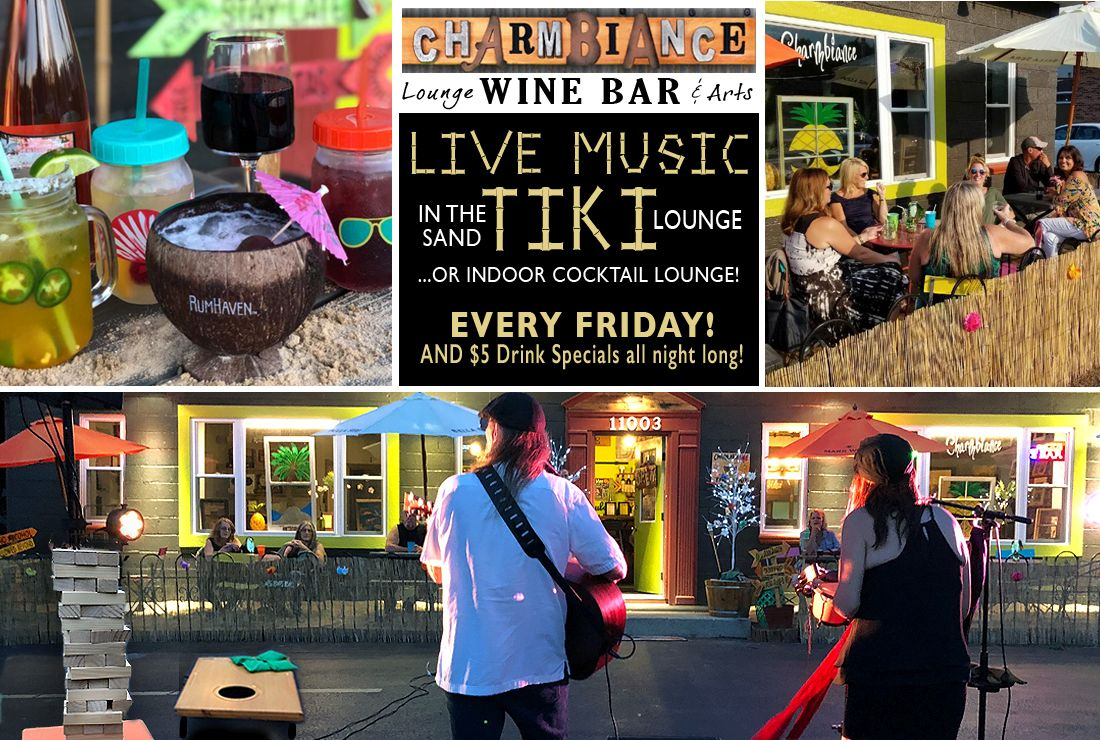 Live Music in the Lounge Special-Weekly Specials